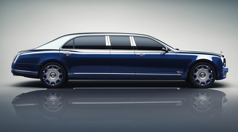Bentley Mulsanne Grand Limousine, la limusina para seis personas