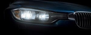 BMW Serie 3 faros halógenos