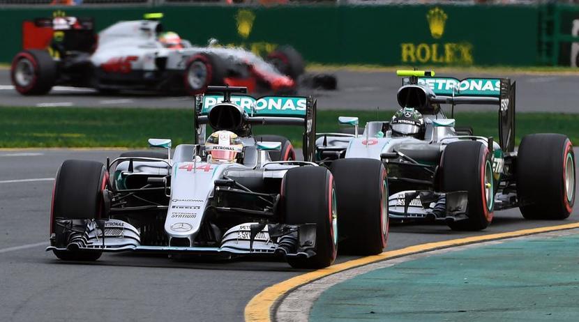 GP de Australia 2016 Mercedes