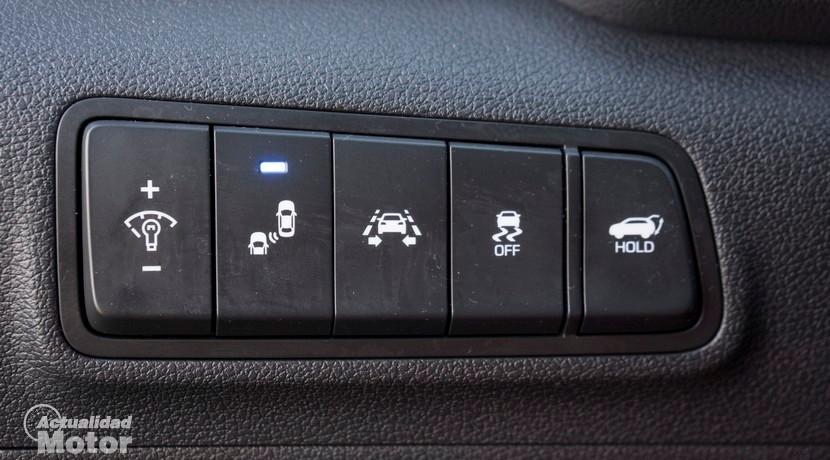 Prueba Hyundai Tucson 1.6 TGDI 176 CV 4x4 ayudas a la conducción