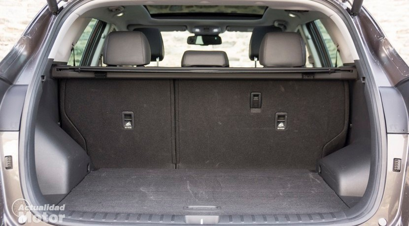 Prueba Hyundai Tucson 1.6 TGDI 176 CV 4x4 maletero