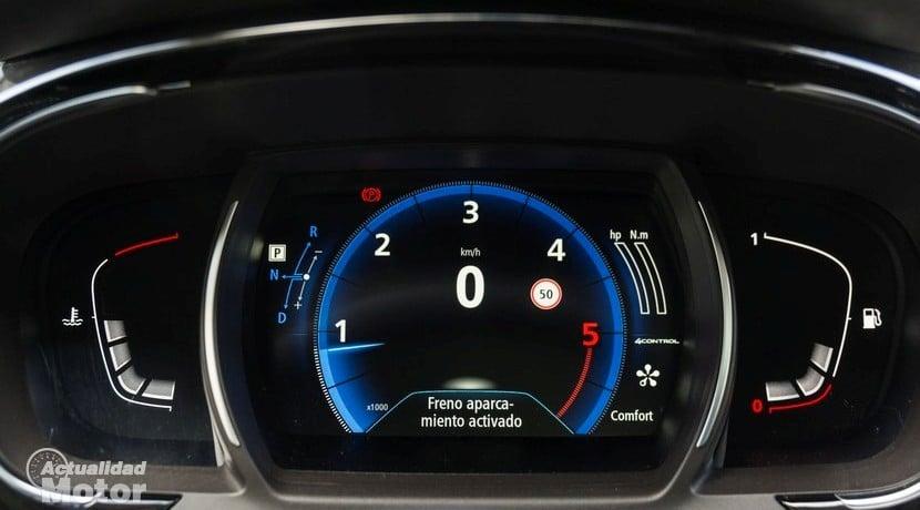 Renault Espace 1.6 dCi 160 CV Initiale París cuadro relojes
