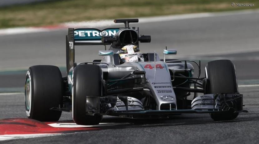 Mercedes en el GP de Australia 2016
