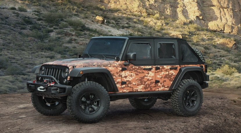 Moab Easter Jeep Safari 2016 Jeep Trailstorm Concept