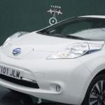 Prueba Nissan Leaf 30kWh vista frontal