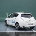 Prueba Nissan Leaf 30kWh vista trasera
