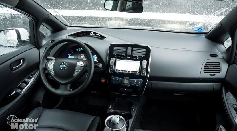 Prueba Nissan Leaf 30 kWh interior