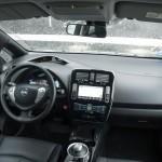 Prueba Nissan Leaf 30kWh interior