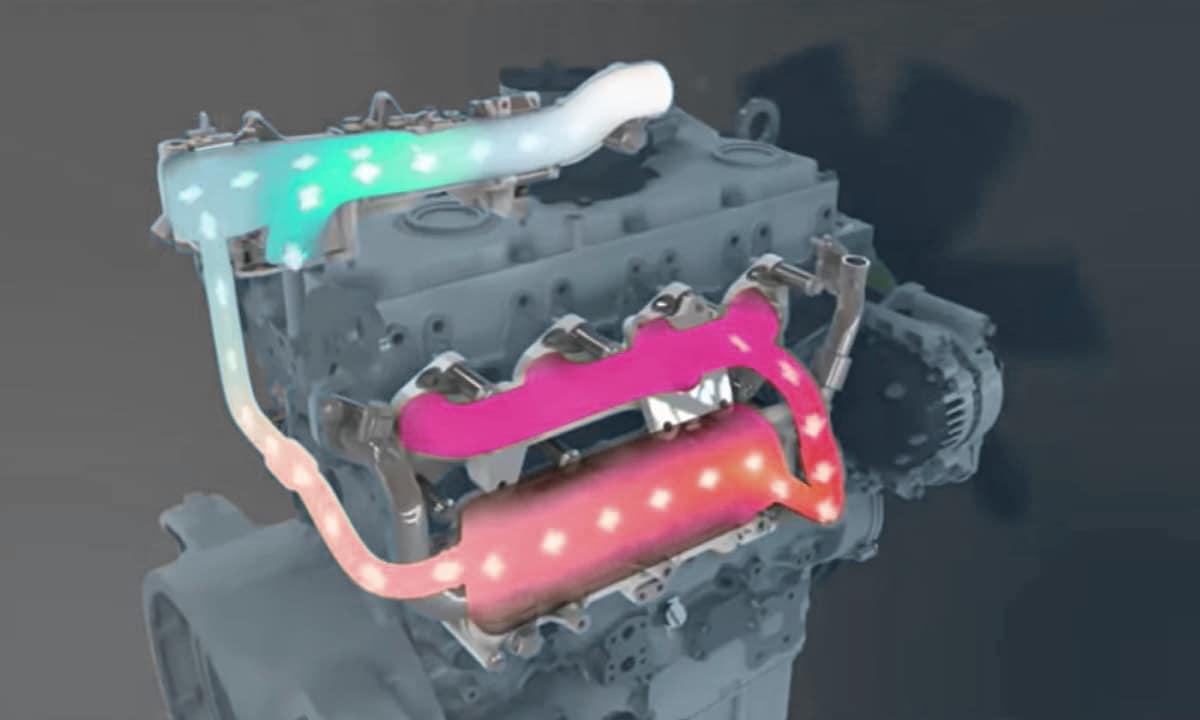 Recirculación de gases de la válvula EGR limpia