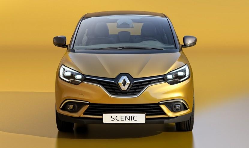 Renault Scenic 2016 vista frontal