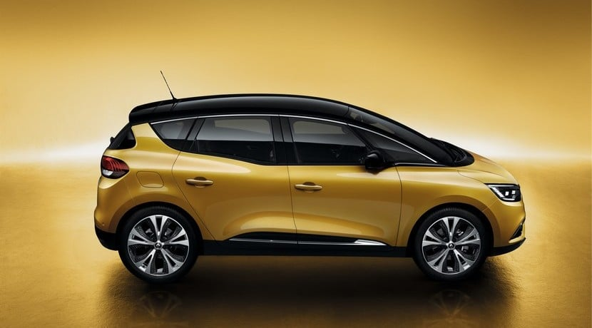Renault Scenic 2016 vista lateral