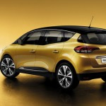 Renault Scenic 2016 vista trasera