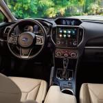 Subaru Impreza sedán 2017 interior