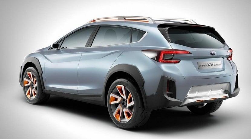 Subaru XC Concept 2016 vista trasera