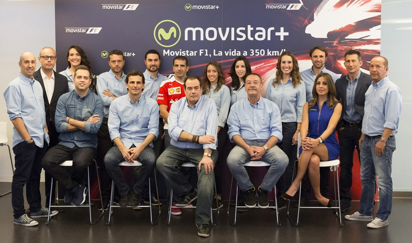 Equipo de MOvistarF1