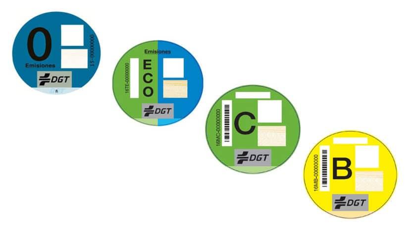 Etiquetas emisiones DGT