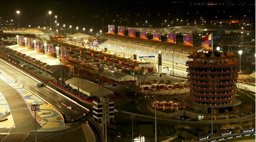 GP de Bahréin: circuito de noche