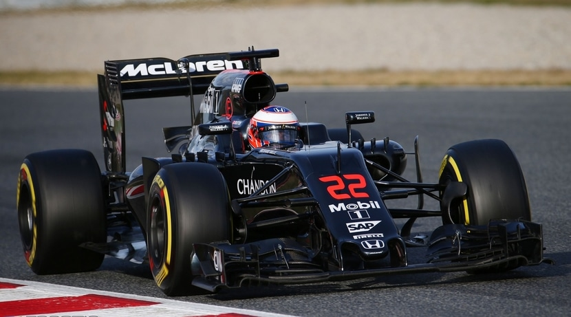Jenson Button MP4-31