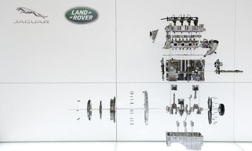 Motores Ingenium Jaguar Land Rover
