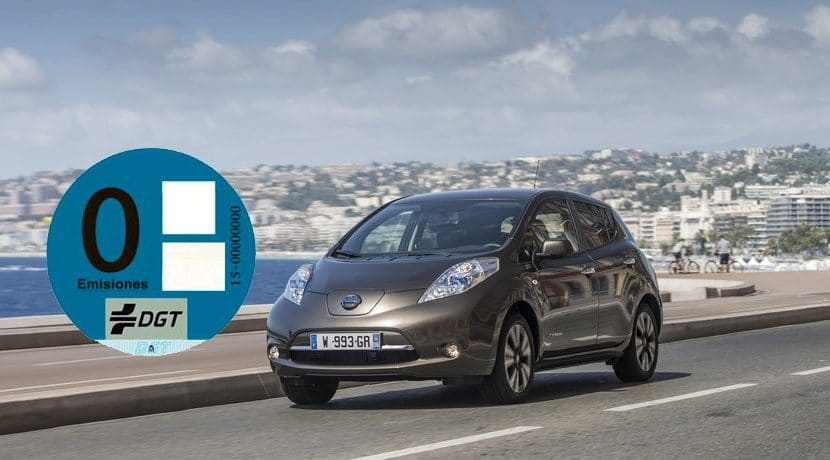 Nissan Leaf 0 emisiones