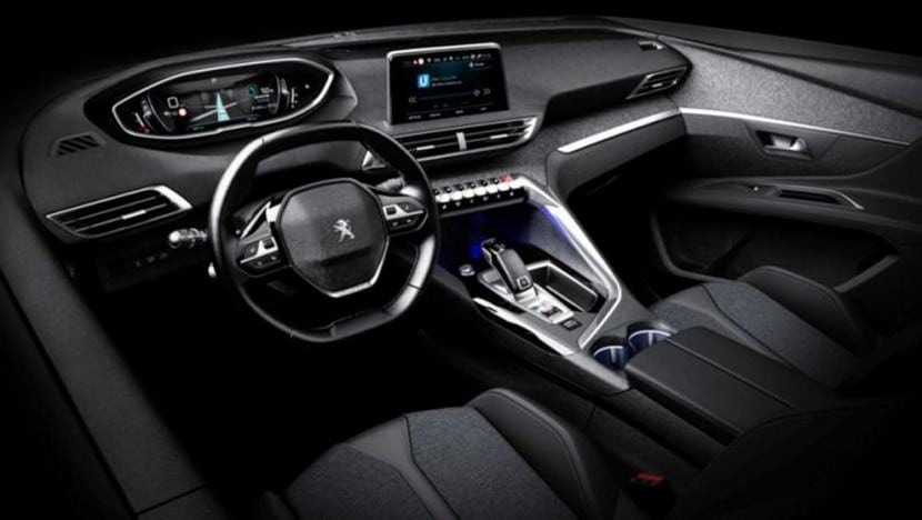 Peugeot 3008 interior filtrado