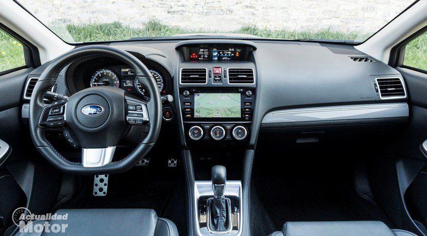 Prueba Subaru Levorg interior