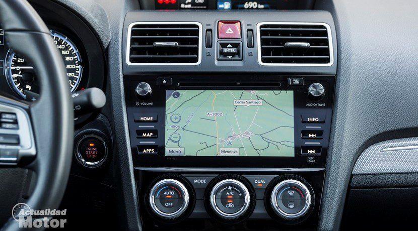 Prueba Subaru Levorg Starlink