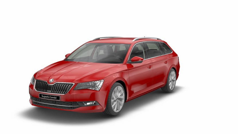 Skoda SUperb Combi Active