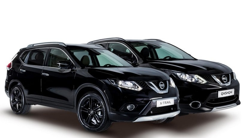Nissan Qashqai y X-Trail Black Edition