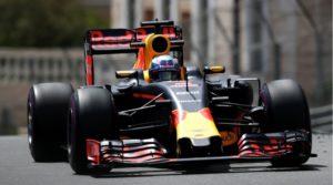 Daniel Ricciardo en el GP de Mónaco 2'016