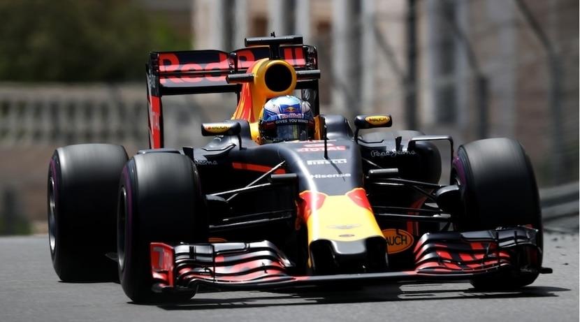 Daniel Ricciardo en el GP de Mónaco 2016