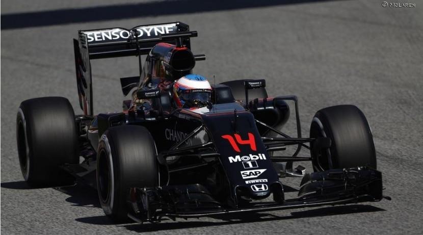 Fernando Alonso en Mónaco 2016