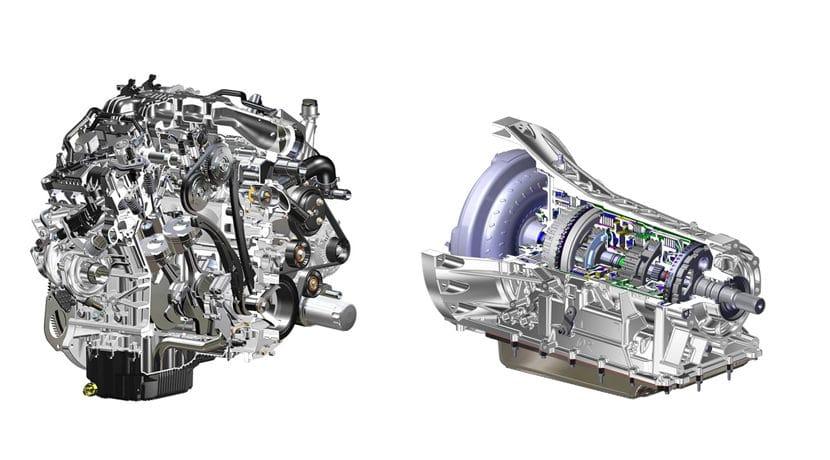 El Ford F-150 2017, con nuevo motor 3.5 V6 EcoBoost y cambio automático de 10 velocidades