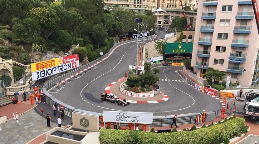 Curva GP de Mónaco 2016