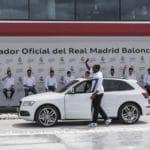 Entrega coches Audi 2016 Real Madrid Baloncesto