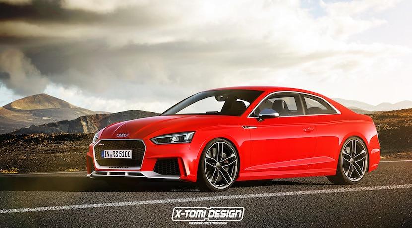 Audi RS5 render