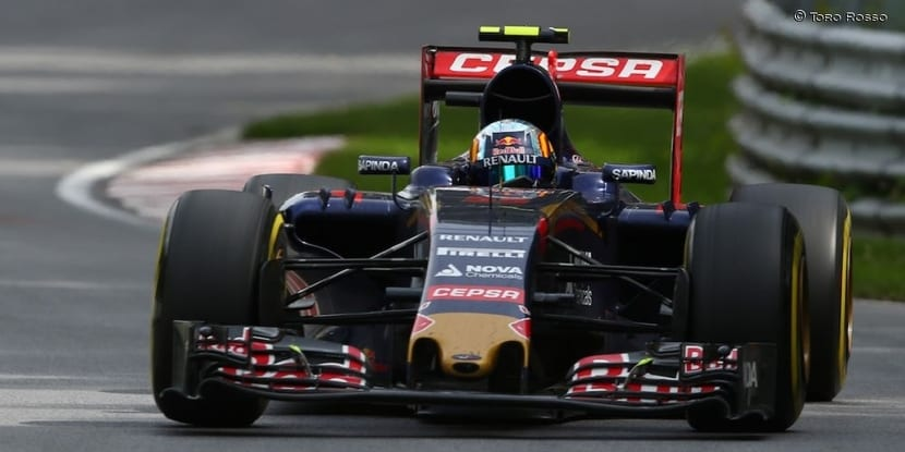 Carlos Sainz Jr. GP de Canadá 2016