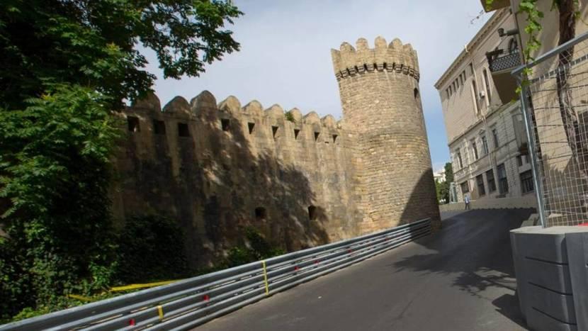 GP de Bakú Castillo
