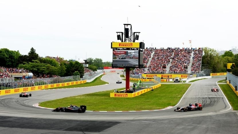 Curva GP de Canadá