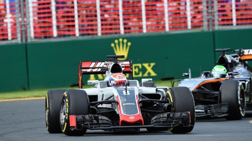 Dos Haas F1 en Australia