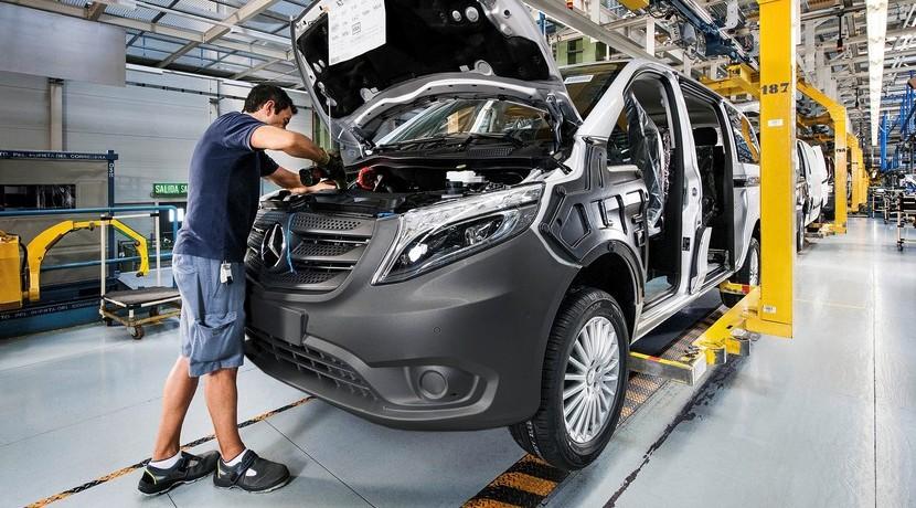 Mercedes Clase V fábrica Vitoria