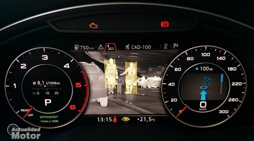 Visión nocturna Audi Q7