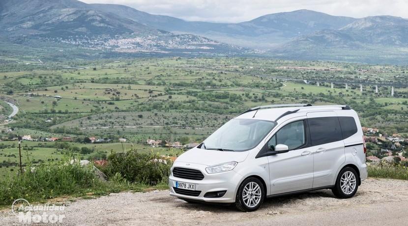 Prueba Ford Tourneo Courier 1.5 TDCi 95 CV