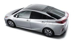 Toyota Prius paneles solares