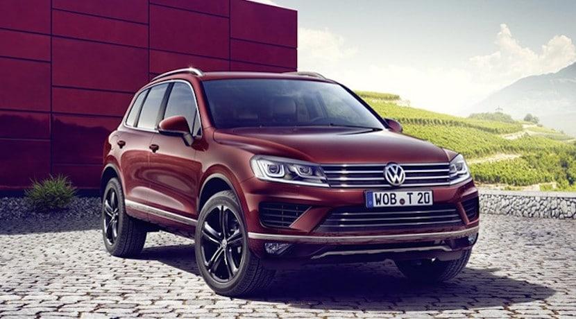 Volkswagen Touareg Executive Edition