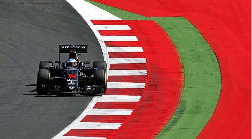 Alonso en el GP de Austria 2016