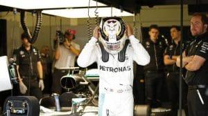Hamilton en el GP de Gran Bretaña