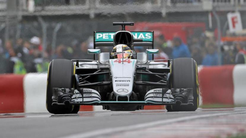 Lewis Hamilton en el Mercedes de 2016