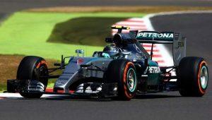 Mercedes F1 en SIlverstone