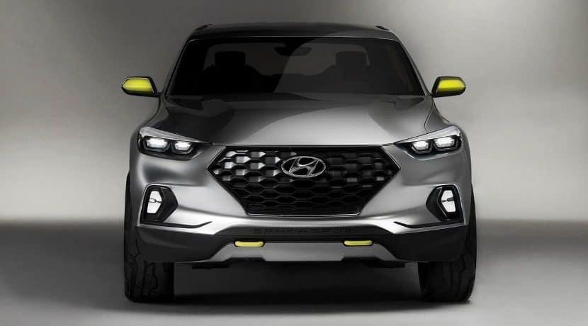 Hyundai Santa Cruz Frontal
